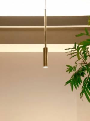 Site Practice - Bespoke brass pendant light