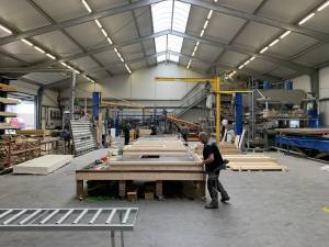 Site Practice - Hemp production facility in Groningen (NL). Site Practice is collaborating on their research on hemp construction in large scale housing projects with Dun Agro Hemp Group and Summum Engineering.