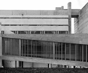 Site Practice - Le Corbusier's monastery of Sainte Marie de La Tourette. Photo: Cemal Emden