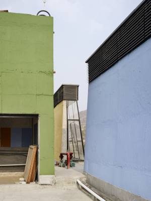 Site Practice - Avasara's solar chimneys designed in collaboration with Transsolar KlimaEngineering.